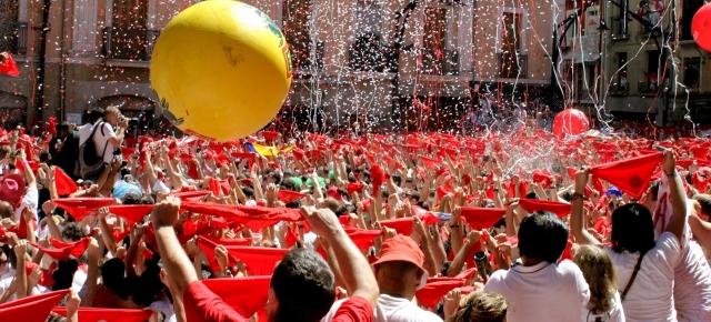 """""""Fiesta"""" de la Pamplona"""